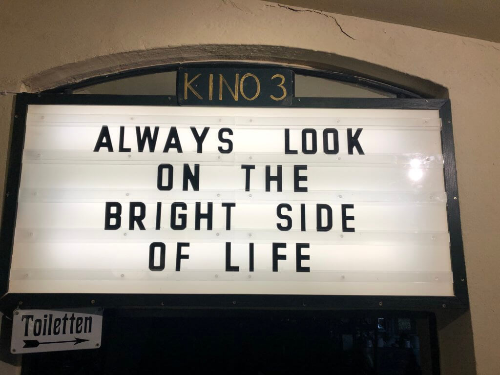 """Programmanzeiger: """"Always Look on the Bright Side of Life"""""""